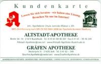 Altstadt-Apotheke-Buxtehude. Nutzen Sie die Vorteile unserer KUNDENKARTE:
